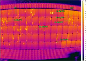Schäden an einer Photovoltaikanlage